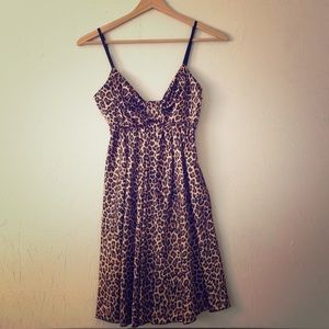 Nasty Gal, leopard Print Dress, S-M